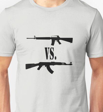 M16 vs. AK47 Unisex T-Shirt