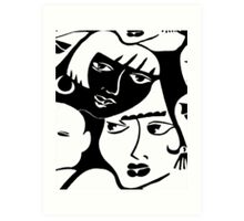 """Dynamic Duo"" Art Print"