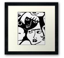 """Dynamic Duo"" Framed Print"