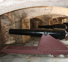 Ft. Sumter Cannons by Allen Gaydos