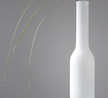 Vase With Tussock Grass by prbimages
