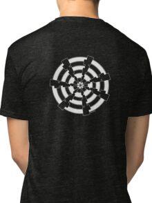 Mandala 30 Simply White Tri-blend T-Shirt
