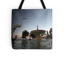 ...the Eastern Beach fountain Tote Bag