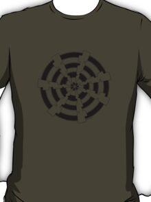Mandala 30 Back In Black T-Shirt