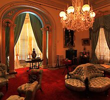The Lounge Werribee Mansion by Hans Kawitzki