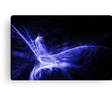 Laser flight Canvas Print