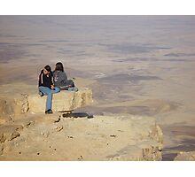 Desert view Photographic Print