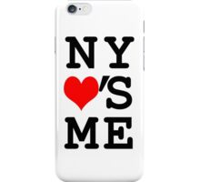 New York Loves Me iPhone Case/Skin