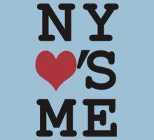 New York Loves Me One Piece - Short Sleeve