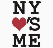 New York Loves Me One Piece - Short Sleeve