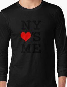 New York Loves Me Long Sleeve T-Shirt
