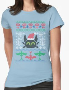 Berk Christmas Womens Fitted T-Shirt