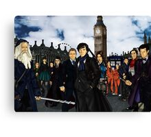 The UK Avengers Canvas Print