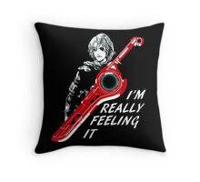 I'm Really Feeling It Throw Pillow