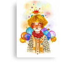 Balloon Party Canvas Print