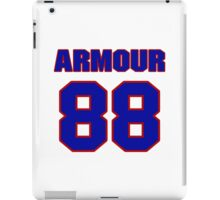 National football player Justin Armour jersey 88 iPad Case/Skin