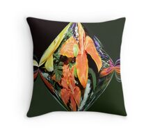Flower Garden II Throw Pillow
