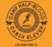 Percy Jackson - Camp Half-Blood - Cabin Eleven - Hermes by gingerbun