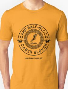 Percy Jackson - Camp Half-Blood - Cabin Eleven - Hermes T-Shirt