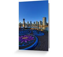 Yaletwon And False Creek Vancouver Greeting Card
