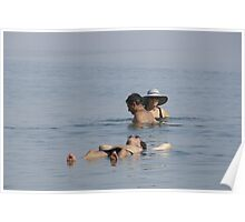 Dead Sea Bathing Poster