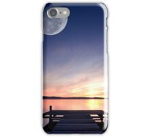 Long Jetty Moon iPhone Case/Skin