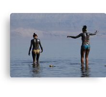Dead Sea mud Canvas Print