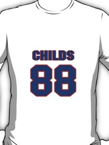 National football player Henry Childs jersey 88 T-Shirt