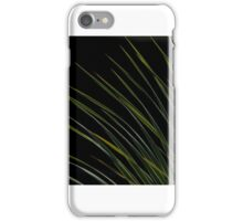Graceful Green Blades iPhone Case/Skin