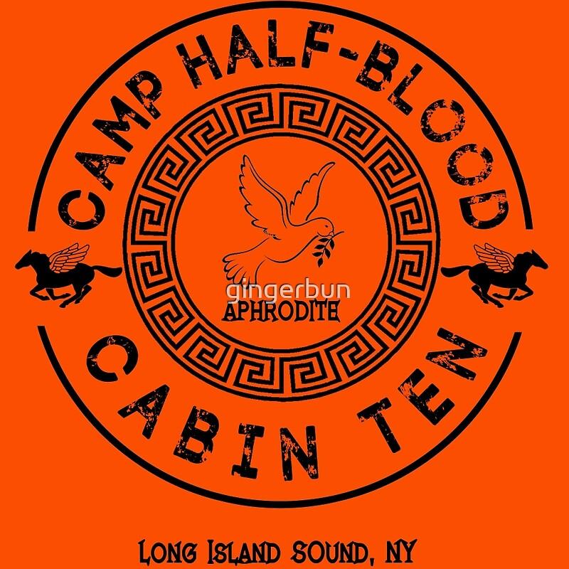 """Percy Jackson - Camp Half-Blood - Cabin Ten - Aphrodite ..."