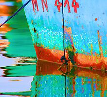 Colorful reflections by Larissa Brea