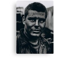 The face of an extra Canvas Print