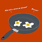 It Don't Run in Our Yolk - Light Text by Brittany Cofer