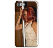 The Model Justine iPhone Case/Skin