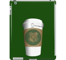 Tall Latte for the Dark Lord!  iPad Case/Skin