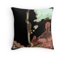 Modern abstract art Throw Pillow