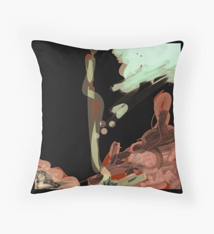Modern abstract art Throw Pillow