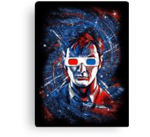Doctor 10 3D Canvas Print