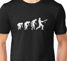evolution of cricket t-shirt Unisex T-Shirt
