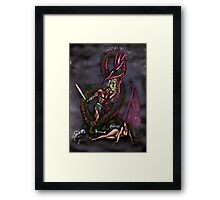 Dragonslayer Framed Print