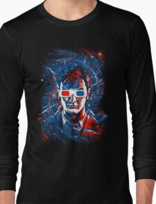 Doctor 10 3D Long Sleeve T-Shirt