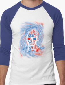 Doctor 10 3D Men's Baseball ¾ T-Shirt