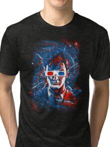 Doctor 10 3D Tri-blend T-Shirt