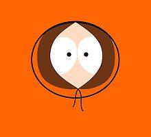 Kenny South Park Face by zeephattony