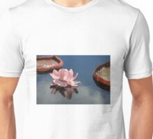 Water Lily Reflection Unisex T-Shirt