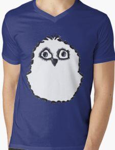 Baby Owl Mens V-Neck T-Shirt