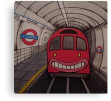 Nowhere Tube Canvas Print