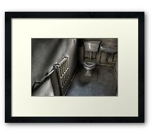Toilet Trained Framed Print