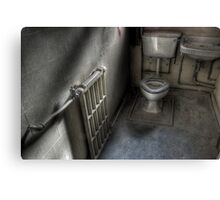Toilet Trained Canvas Print