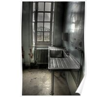 Sink and window Poster
